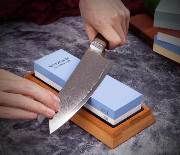 Точильный камень – прошлый век, я нашла простой способ заточки ножей, с которым справится даже ребёнок