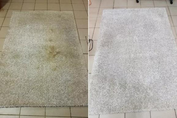 Показываю, как я помыла свои ковры, и они стали чище, чем новые.Легкий способ, который помогает мне очищать их,не вынося из дома