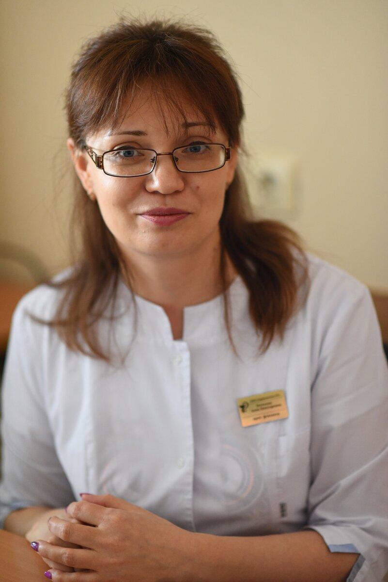 Анна Почкина, врач-фтизиатр из Оренбургской области. Фото Олега Рукавицына.