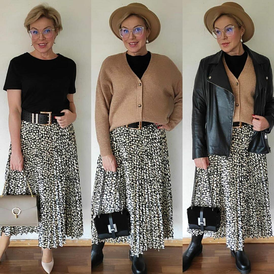 Как носить летние вещи осенью и зимой? Готовые образы от стилиста. + Подборка модных кардиганов из масс-маркета!