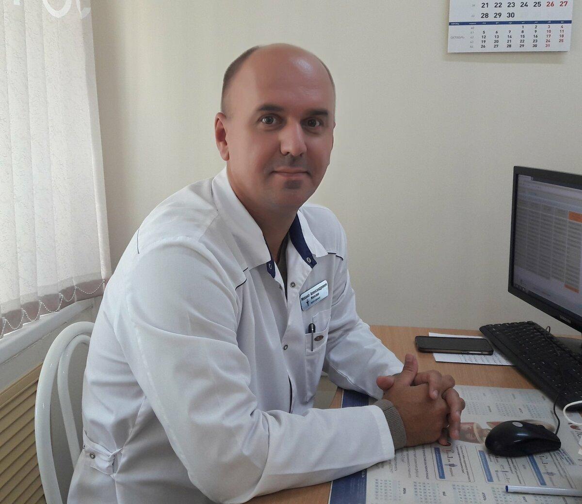 Оренбургский доктор Михаил Мальцев. Фото Инны Ломанцовой.
