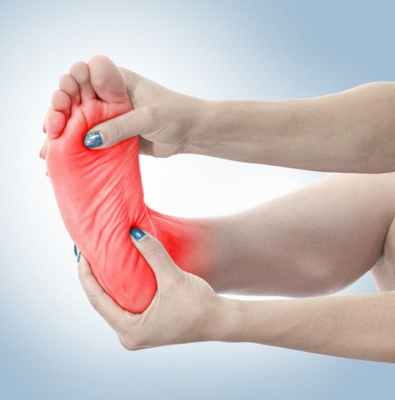Жжение в стопах или эритромелалгия