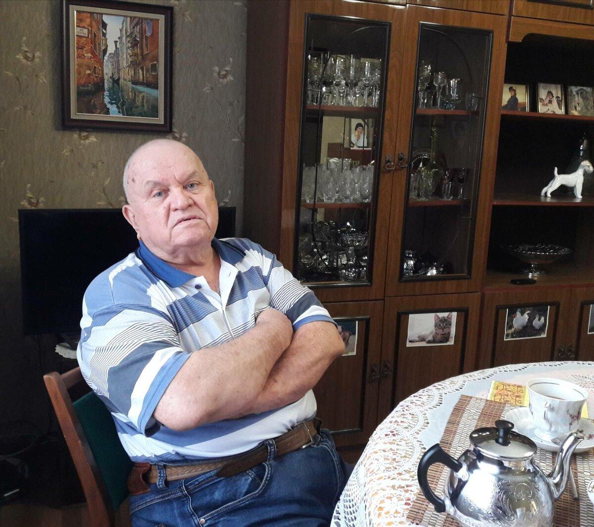 Оренбургский врач-уролог Александр Григорьевич Шпикалов. Фото Инны Ломанцовой.
