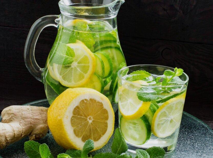 Для оздоровления организма и с целью похудения начала пить воду Сасси. Делюсь рецептом